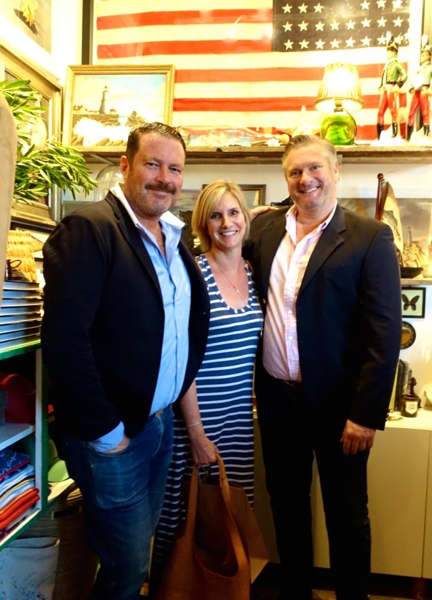 Matt Albiani, Elizabeth Burns, and Ron Brand