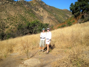 Hiking with my Mom in Santa Barbara
