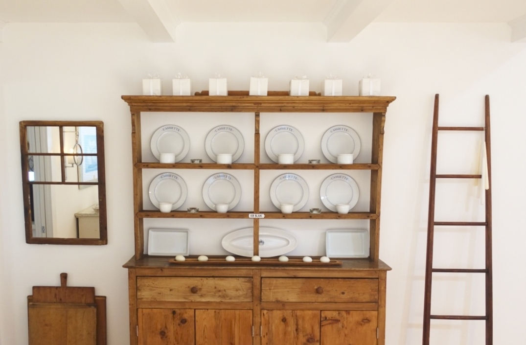 cottage dining hutch