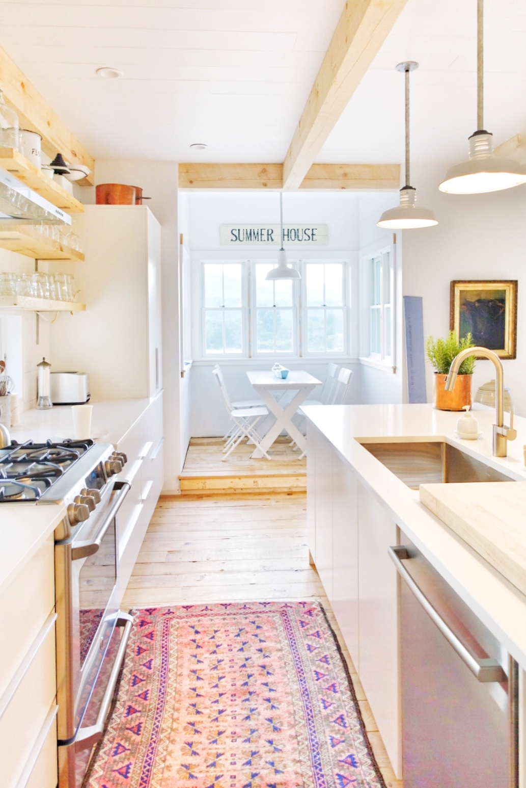 Vermont farmhouse kitchen