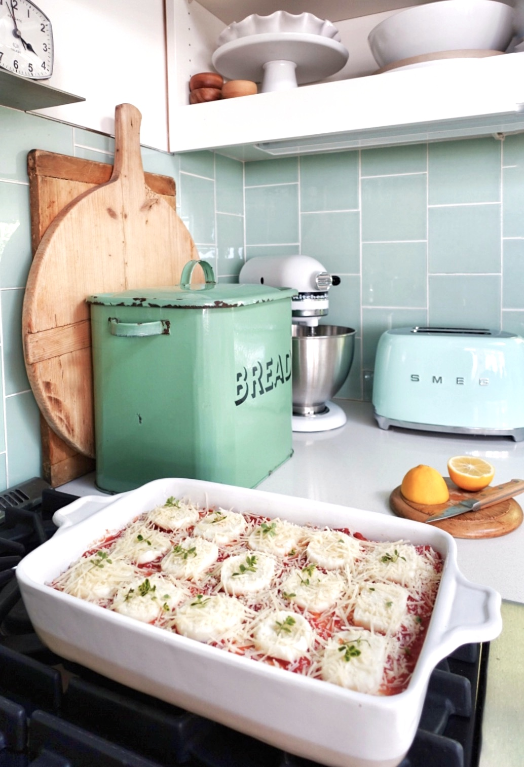 Lemon Ricotta Lasagne
