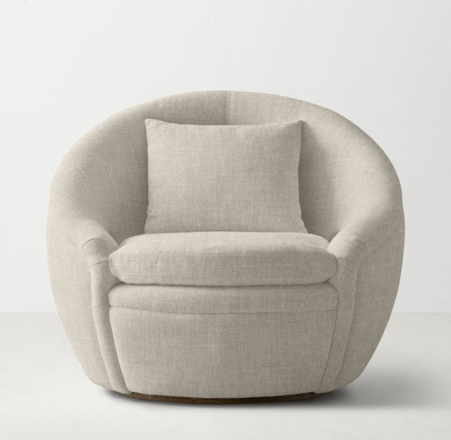 RH TEEN Oberon Swivel Chair